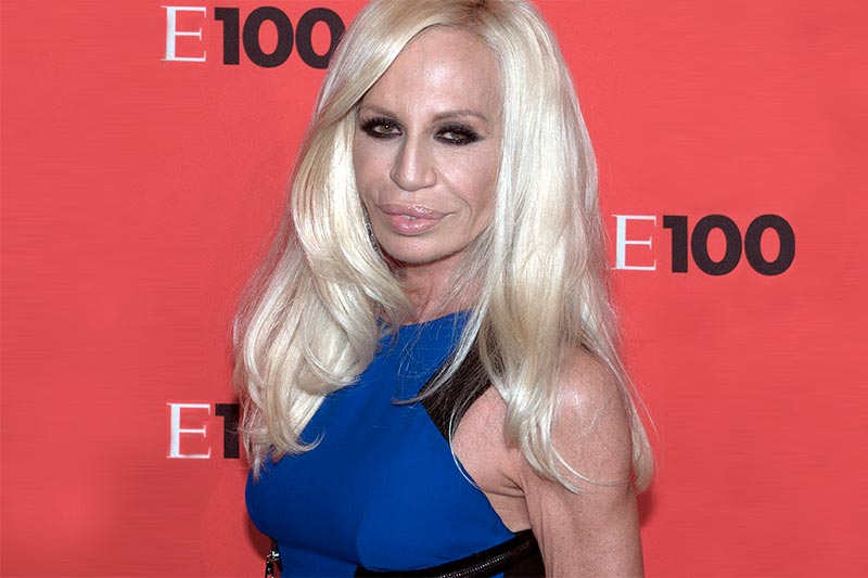 "Donnatella Versace: Why Being a Tough Chick is Never ""in Fashion"""