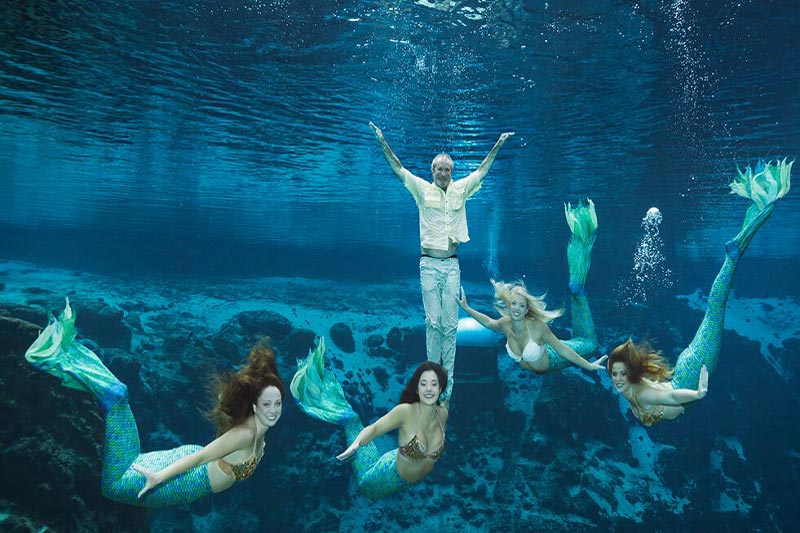 My Date with a Weeki Wachee Mermaid(s)