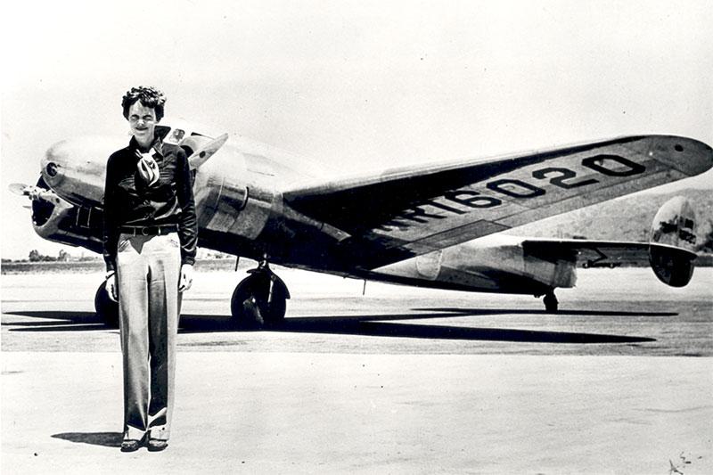 The Real Amelia Earhart