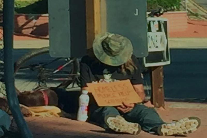 Being Homeless is NOT for Cowards