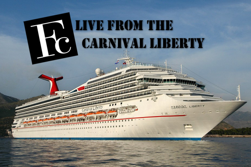 FC Live from the Carnival Liberty Cruise Ship