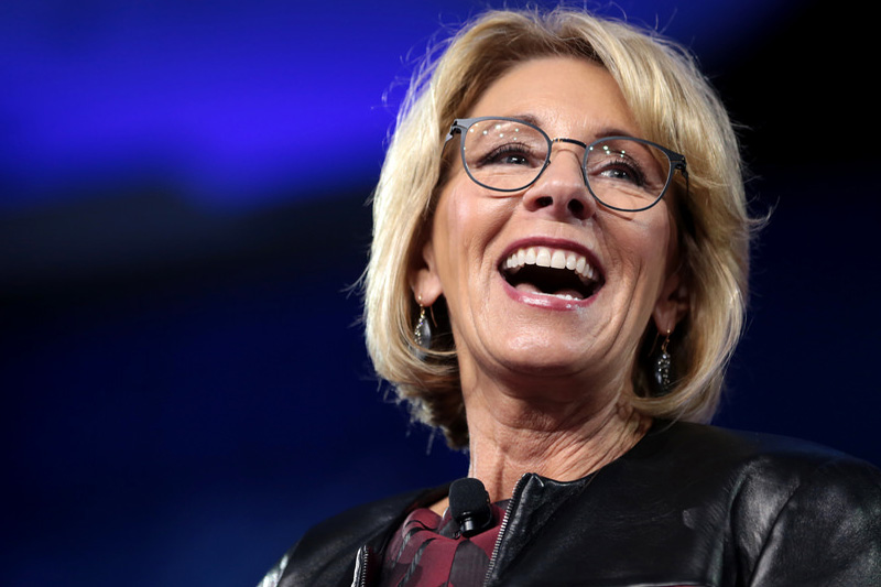 Highly unQualified: U.S. Secretary of Education Betsy DeVos