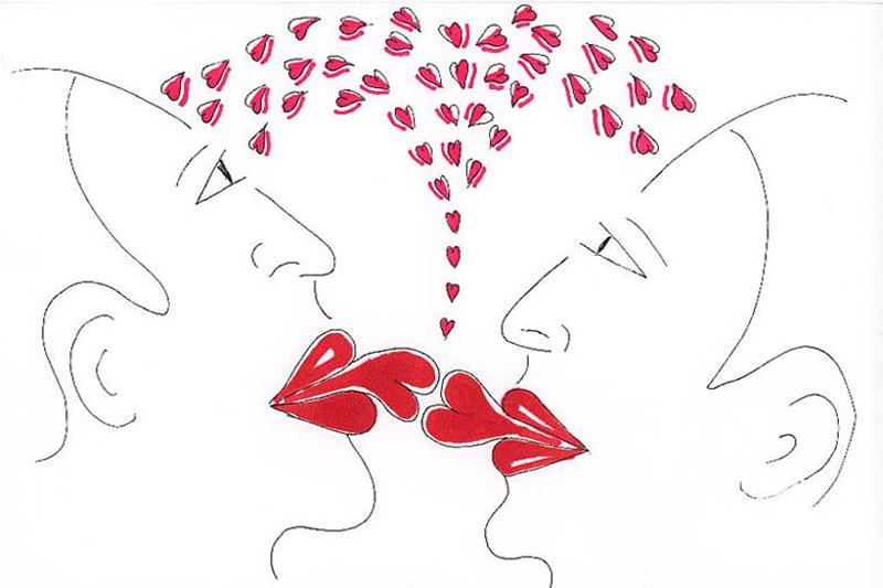 Aggressi-Kissing 101