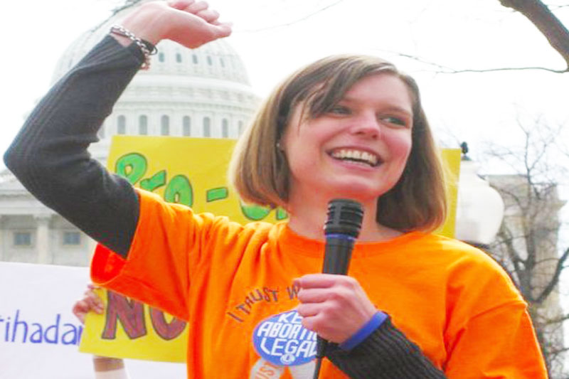 Women Who Inspire: Erin Matson, Writer, Feminist Activist and Co-Founder and  Co-Director of Reproaction.org